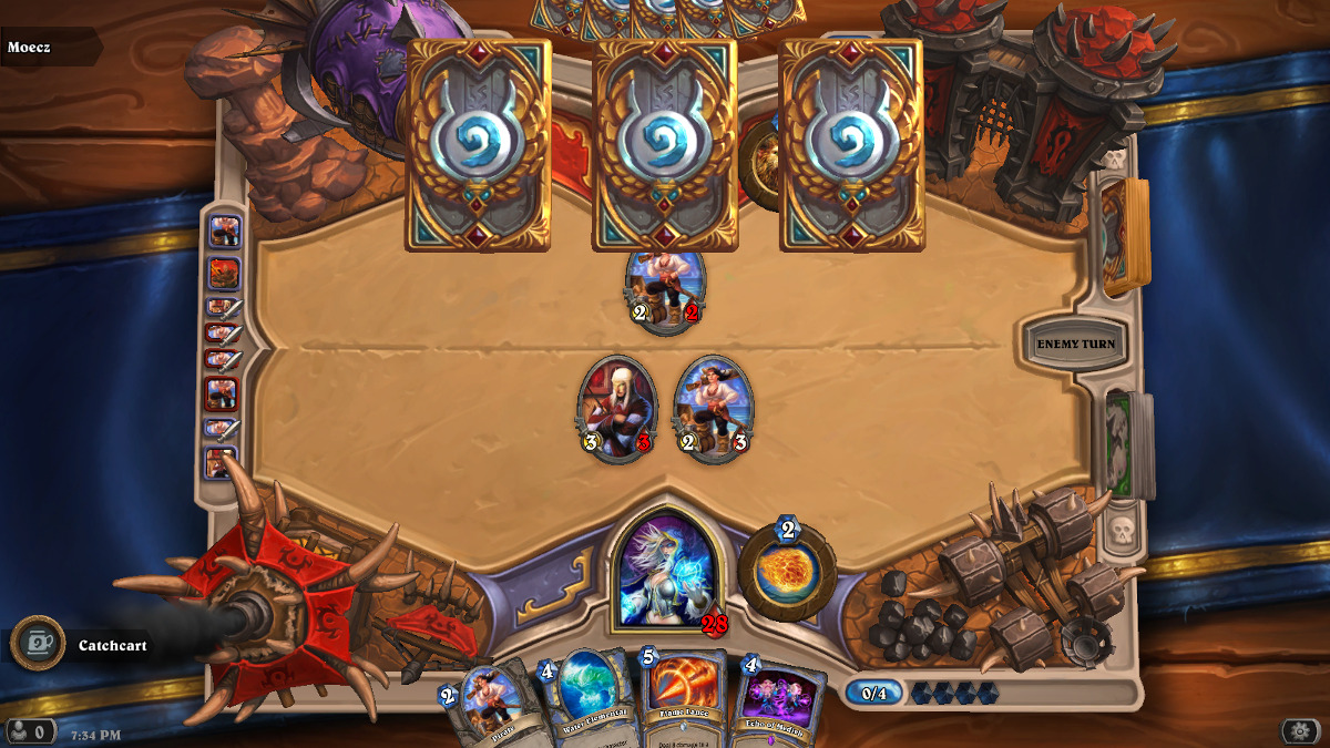 This is just after my turn four play